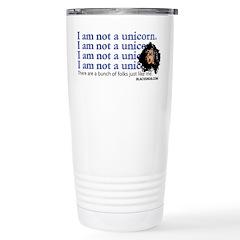 No Unicorns! Stainless Steel Travel Mug