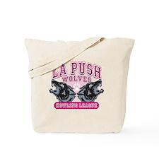 LaPush Howling League (pink) Tote Bag
