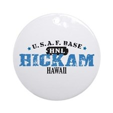 Hickam Air Force Base Ornament (Round)