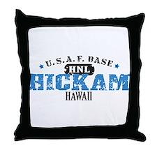 Hickam Air Force Base Throw Pillow