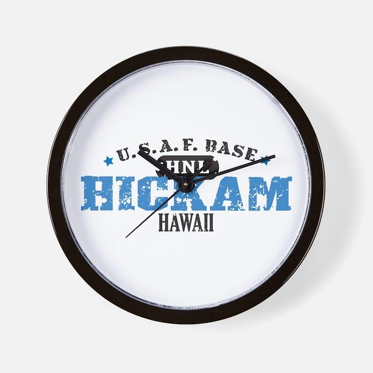 Hickam Air Force Base Wall Clock