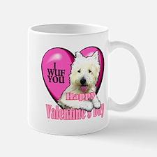 Westie Valentines Day Mug