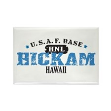 Hickam Air Force Base Rectangle Magnet