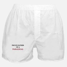Proud Father Of A PARALEGAL Boxer Shorts