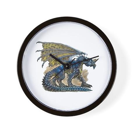 Blue Dragon - Wall Clock