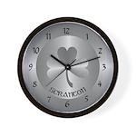 Scranton Irish Wall Clock