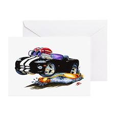 Viper Black/White Convertible Greeting Cards (Pk o