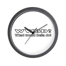 What Would Bella Do Wall Clock