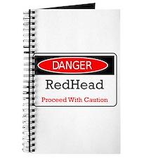 Danger! Red Head! Journal