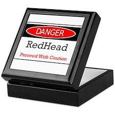 Danger! Red Head! Keepsake Box