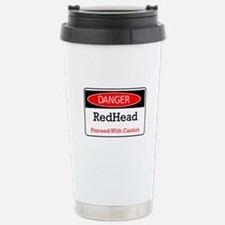 Danger! Red Head! Travel Mug