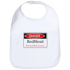 Danger! Red Head! Bib