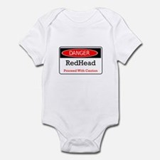 Danger! Red Head! Infant Bodysuit