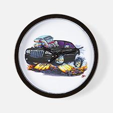 Chrysler 300 Black Car Wall Clock