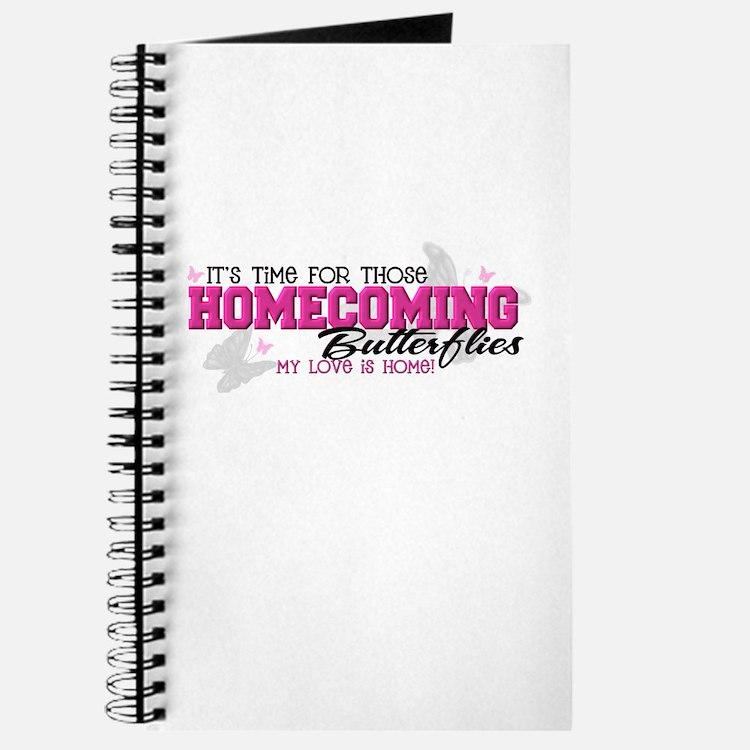 Homecoming Butterflies Journal