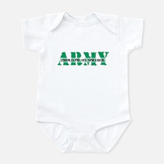 Proud Of My Soldier Infant Bodysuit