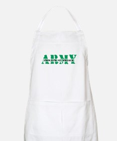 Proud Of My Soldier BBQ Apron