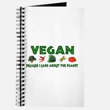 Vegans Care About Planet Journal