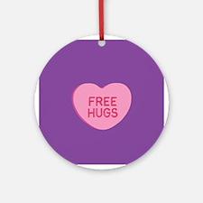 Free Hugs Ornament (Round)
