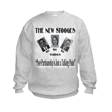 New Stooges: Post-Partisan Kids Sweatshirt
