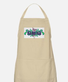 Sabrina's Butterfly Name BBQ Apron