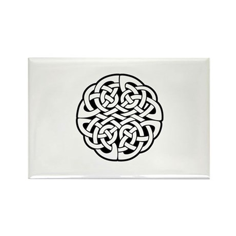 Celtic Knot 3 Rectangle Magnet