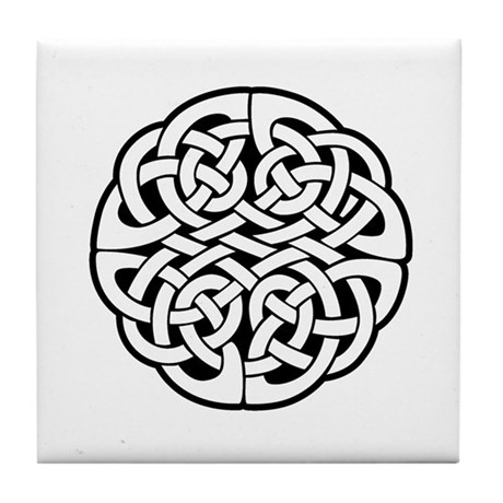 Celtic Knot 3 Tile Coaster