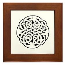 Celtic Knot 3 Framed Tile