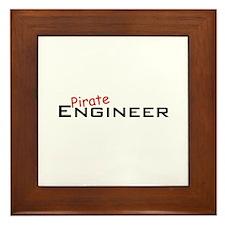 Pirate Engineer Framed Tile