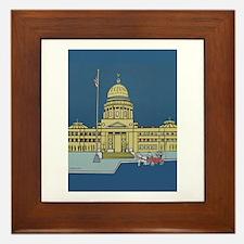 """Cupid at the Capital"" Framed Tile"