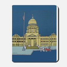 """Cupid at the Capital"" Mousepad"