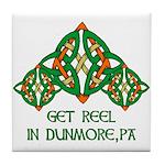 Get Reel In Dunmore Tile Coaster