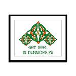 Get Reel In Dunmore Framed Panel Print
