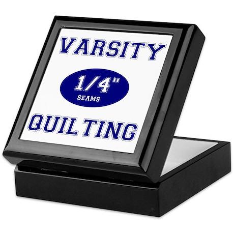 Varsity Quilting Keepsake Box