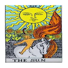 """The Sun"" Tile Coaster"