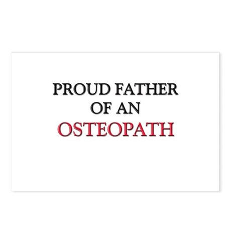 Proud Father Of An OSTEOPATH Postcards (Package of