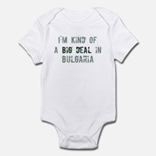 Big deal in Bulgaria Infant Bodysuit