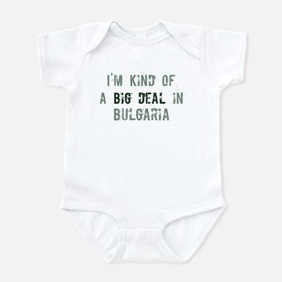 Big deal in Bulgaria Infant Bodysuit