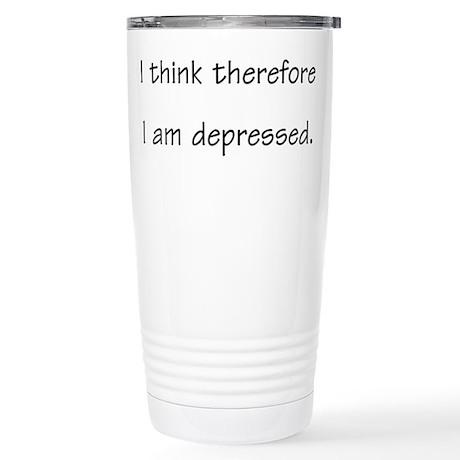 Depressed - Stainless Steel Travel Mug