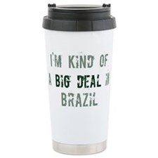 Big deal in Brazil Travel Mug