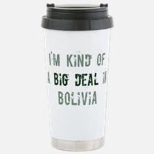 Big deal in Bolivia Travel Mug