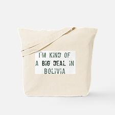 Big deal in Bolivia Tote Bag