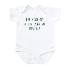 Big deal in Bolivia Infant Bodysuit