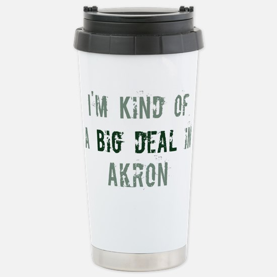 Big deal in Akron Stainless Steel Travel Mug