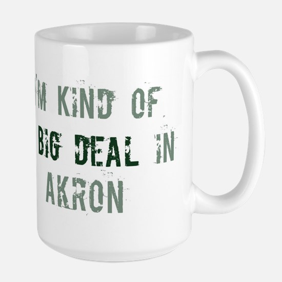 Big deal in Akron Large Mug