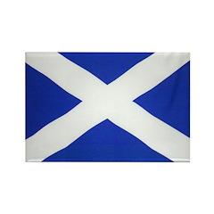 Scotland St Andrews Flag Rectangle Magnet (10 pack
