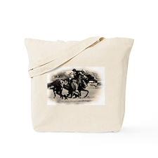 Racing Horse design Tote Bag