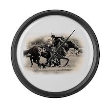 Racing Horse design Large Wall Clock