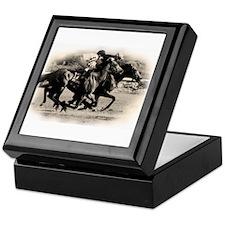 Racing Horse design Keepsake Box