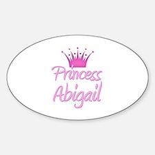 Princess Abigail Oval Decal